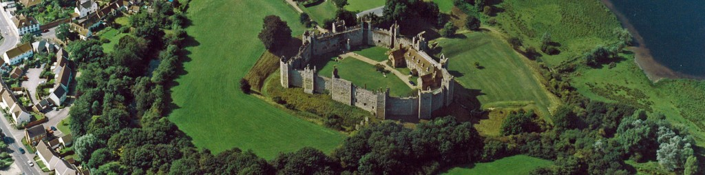 Aerial View of Castle - Commercial Property Framlingham, Suffolk