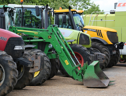 Agricultural machinery to be used on commercial property