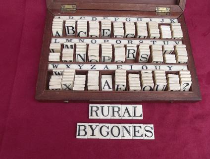 Rural Bygones Wickham Market, Suffolk