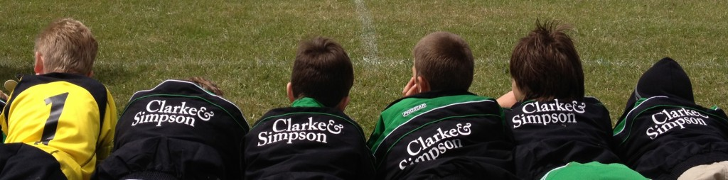Clarke & Simpson Football Team Wickham Market & Framlingham, Suffolk