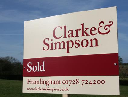 Clarke & Simpson Sold Board
